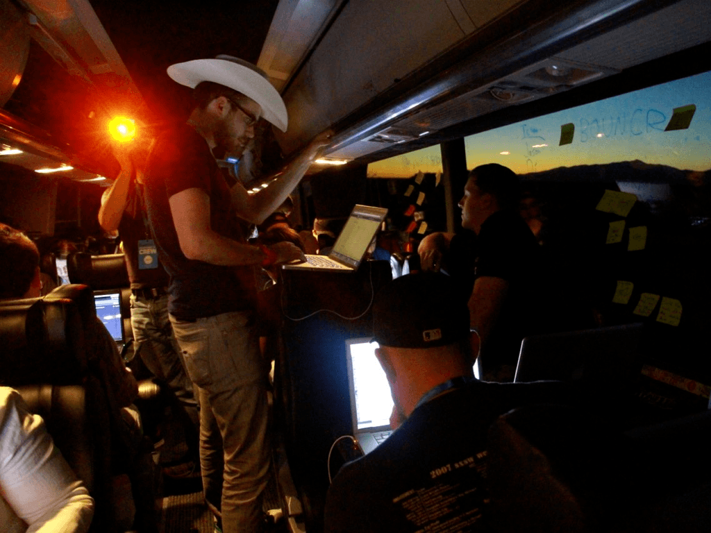 Startup Bus Coding