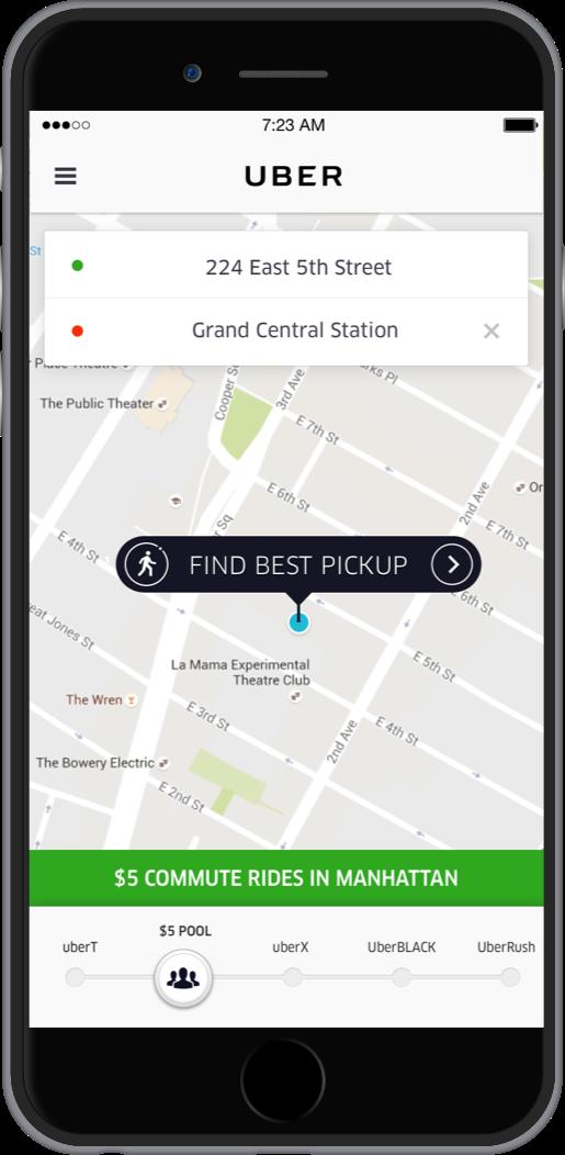 UberPOOL select