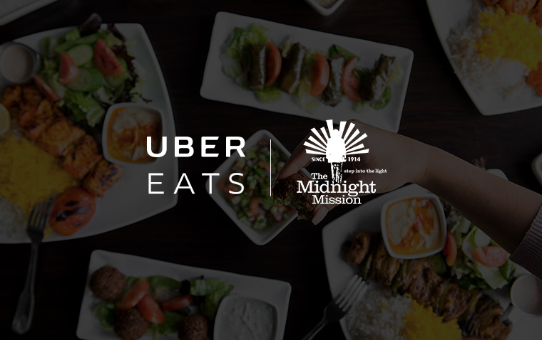 UberEATS honors The Midnight Mission and its Contribution to Homeless Families