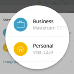 Switching to your Uber Business Profile means separated payment, and receipt forwarding to your work email address.