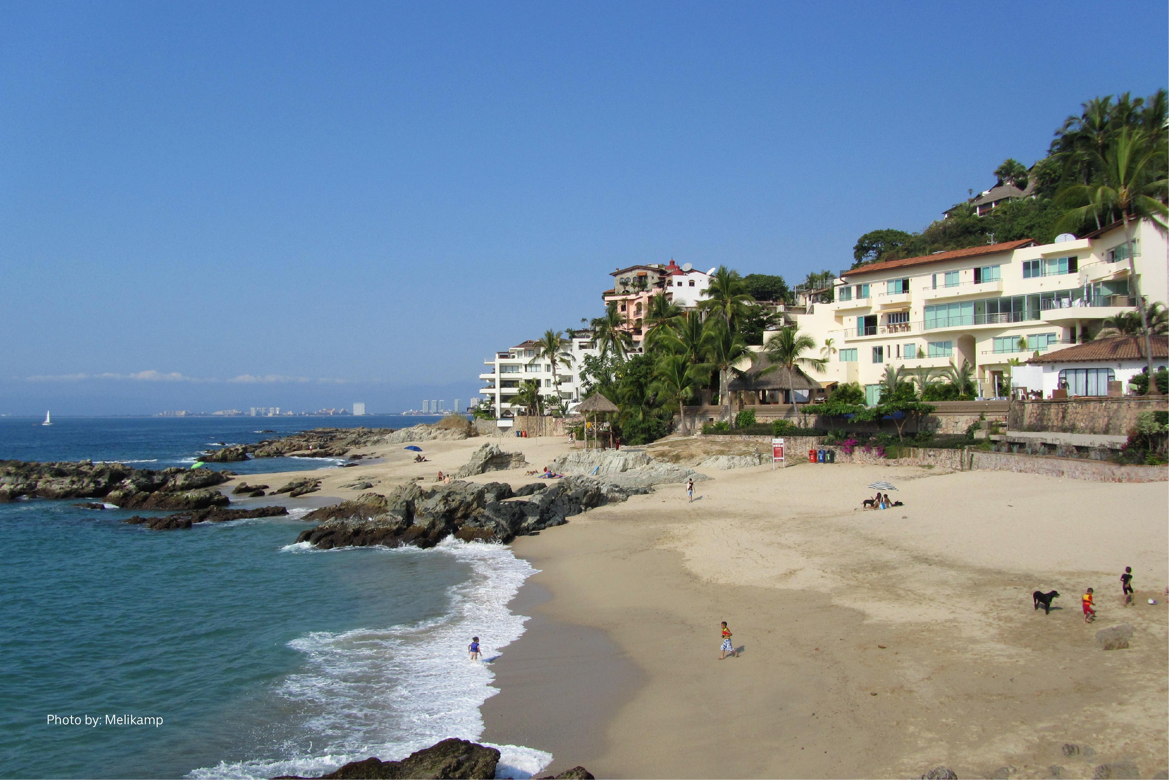 Playa Conchas Chinas de Puerto Vallarta