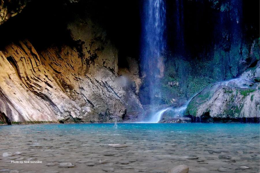 Cascadas en el Cañón del Chipitín