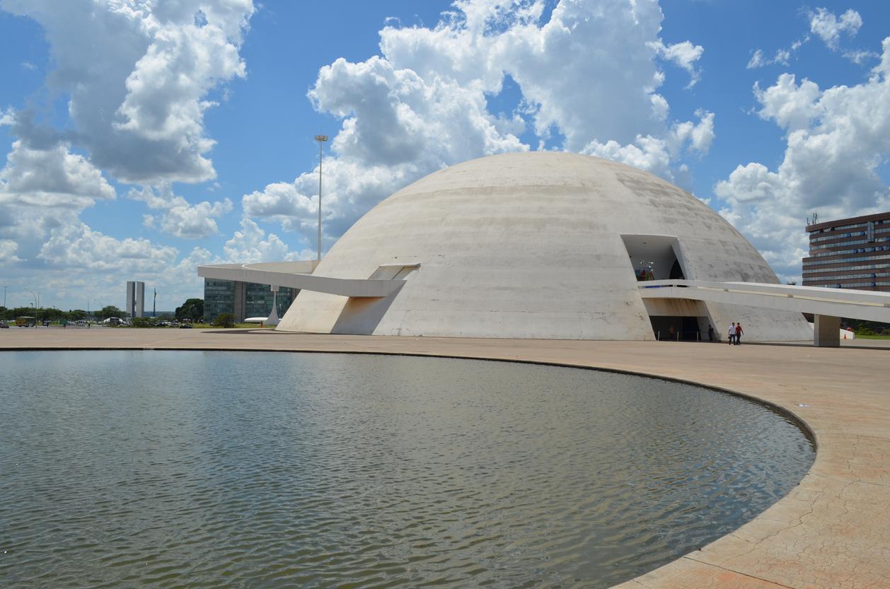 Museu Nacional Honestino Guimaraes, Brasilia - Brazil