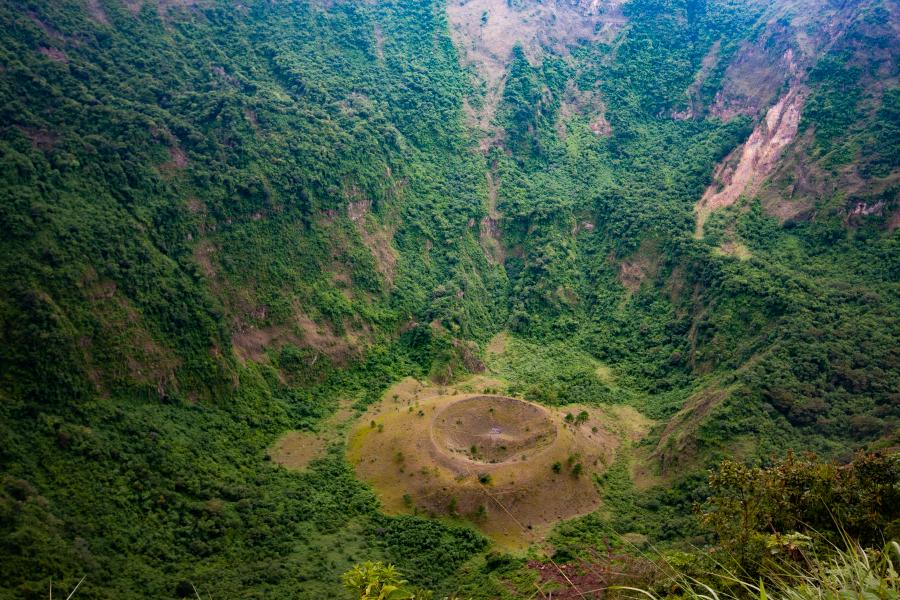 Cráter del Parque Nacional El Boquerón