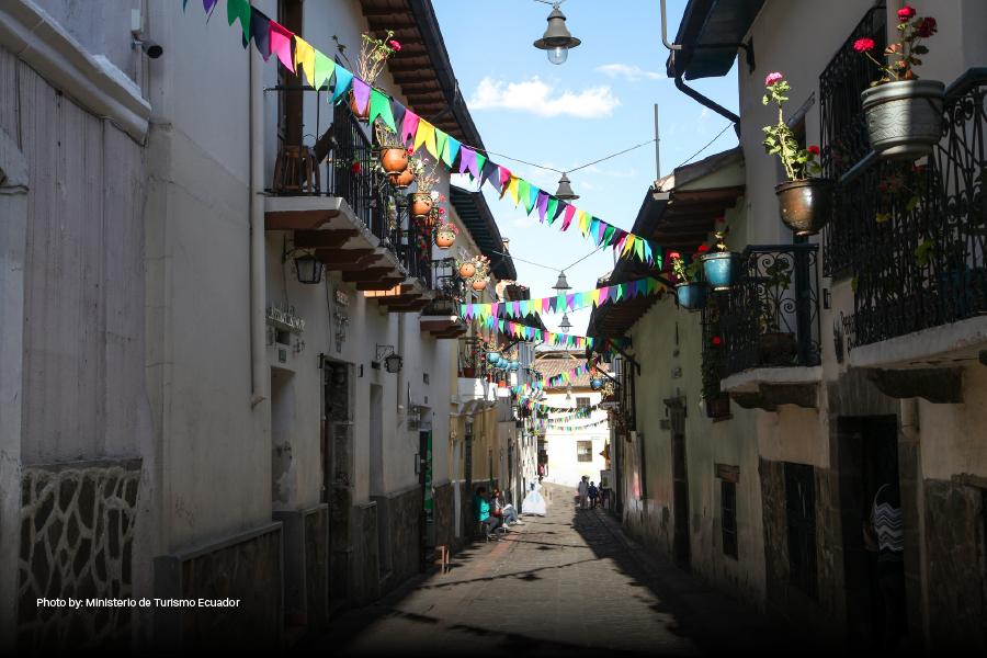 Barrio de La Ronda en Quito