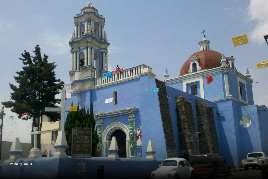 El barrio de Xanenetla en Puebla