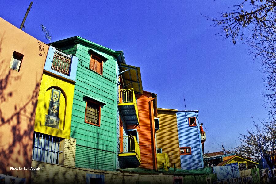 Vista de Caminito en Buenos Aires