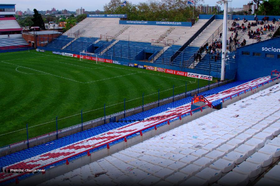 Campo de fútbol en Montevideo