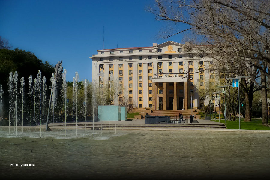 La Casa de Gobierno en Mendoza