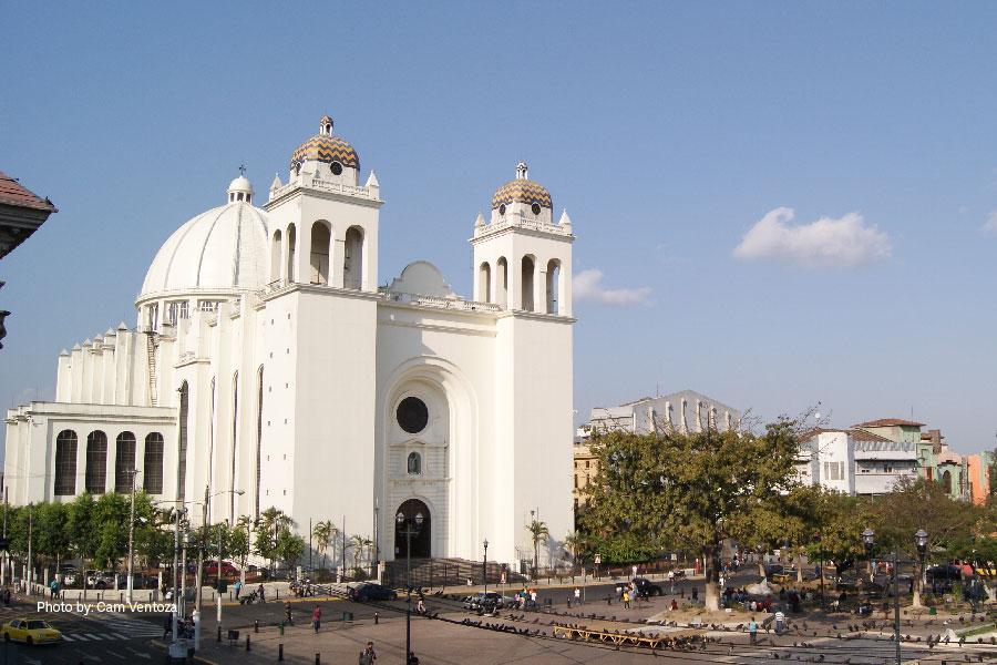 Fachada de la Catedral de San Salvador