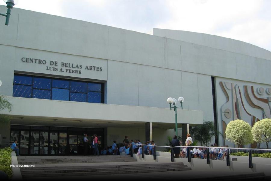 El Centro de Bellas Artes en Caguas