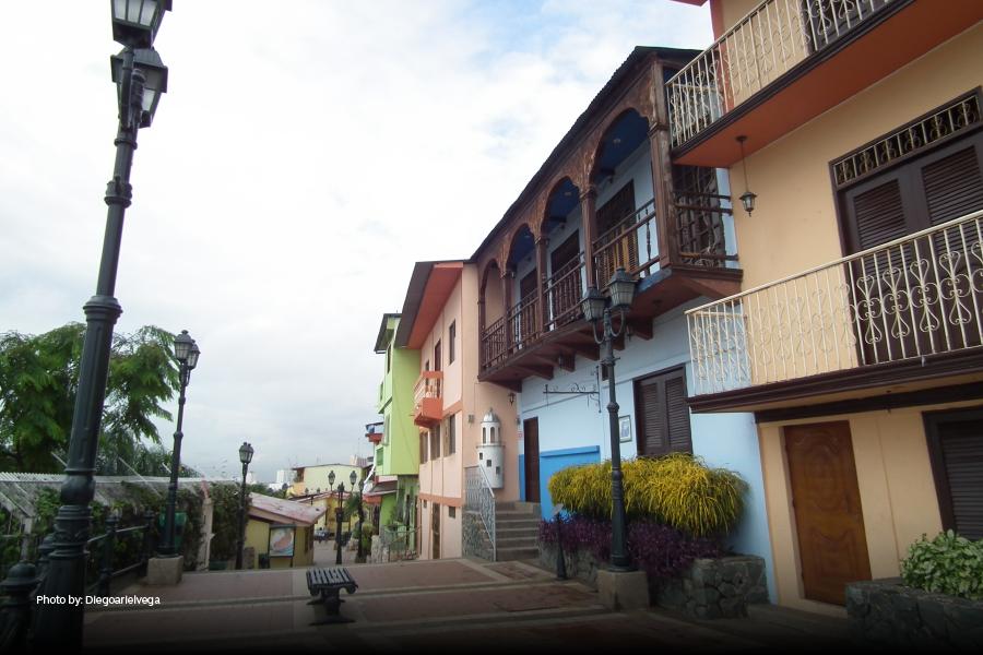 Edificios del barrio Las Peñas