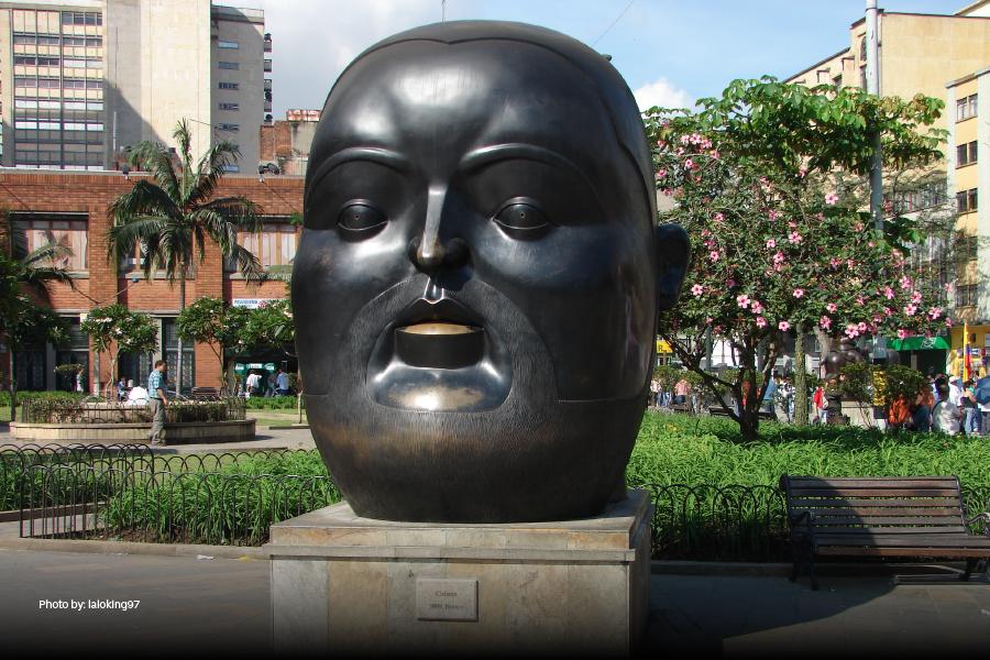 Plaza Botero en Medellín