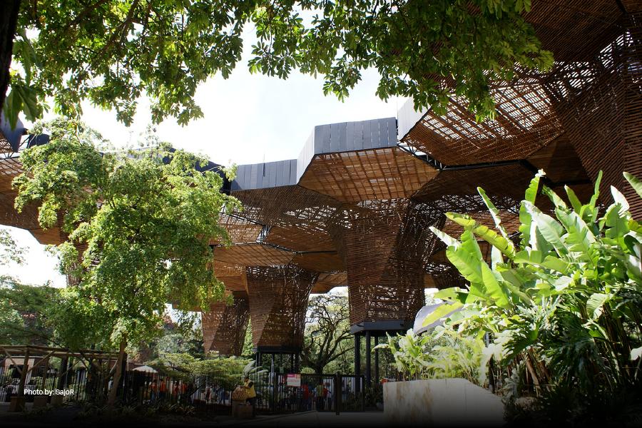 El Orquiderama del Jardín Botánico de Medellín