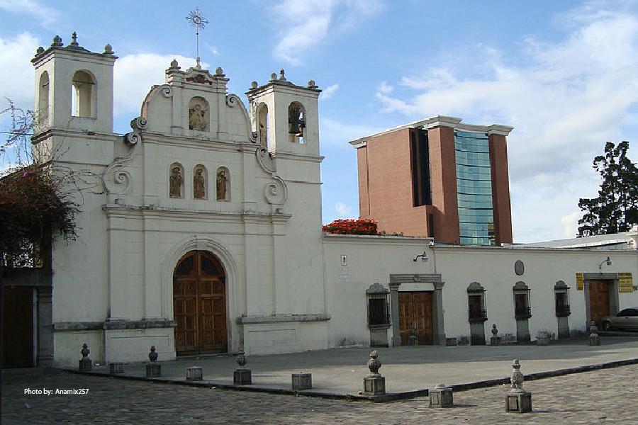La Ciudad Vieja cerca de Antigua Guatemala