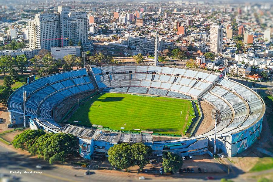 Estadio Centenario en Montevideo