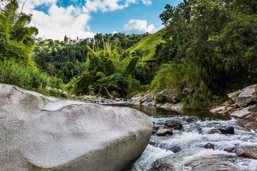 Río La Mina en el Yunque