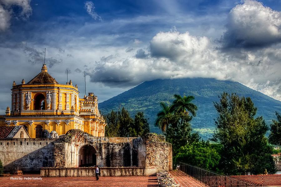 El Volcán de Agua cerca de Antigua Guatemala