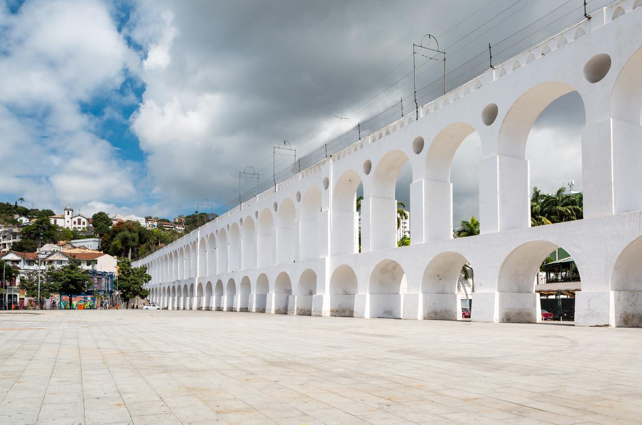 Aqueduto da Carioca no Rio de Janeiro