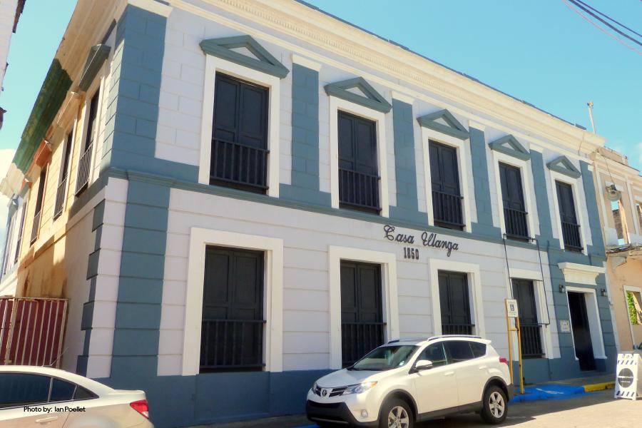 Fachada de Casa Ulanga, Arecibo