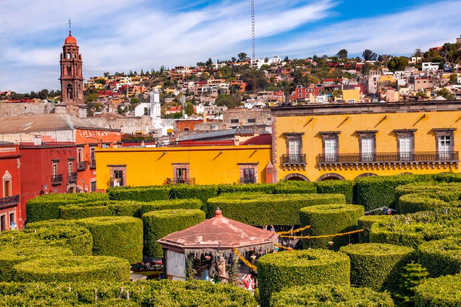 Jardín Allende en San Miguel de Allende