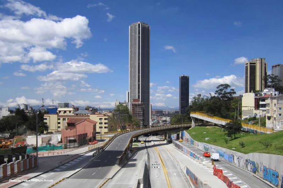 Vista desde la Torre Colpatria