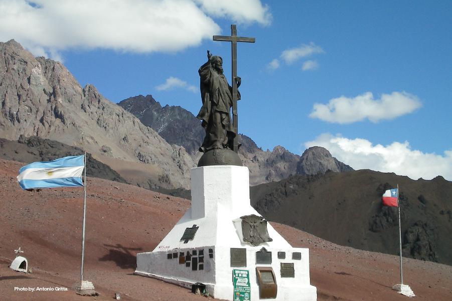 Cristo Redentor en Mendoza