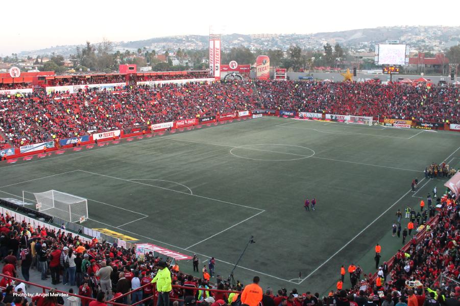 Estadio de fútbol en Tijuana