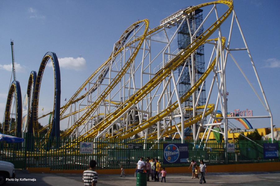 Parques de diversiones en la CDMX