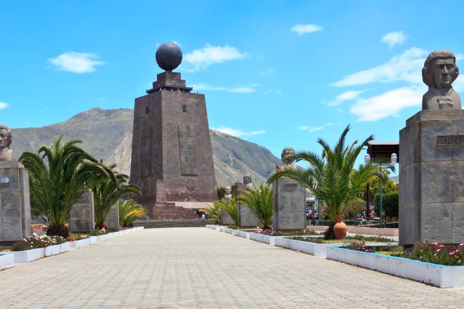 Monumento a la Mitad del Mundo en Quito