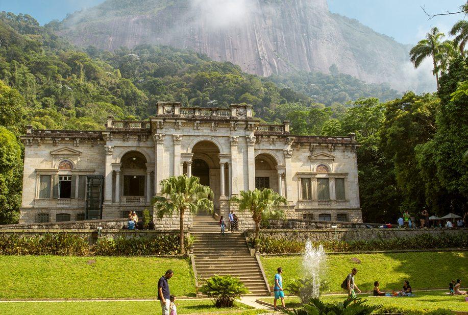 Casarão do século XIX do Parque Lage