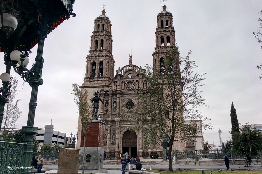 Plaza de Armas en Chihuahua