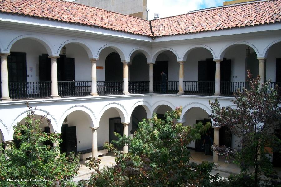 Patio del Museo de Botero