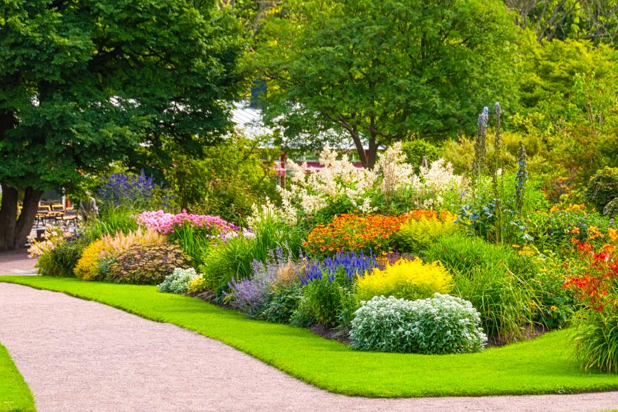 Jardines del Parque Central de Mendoza