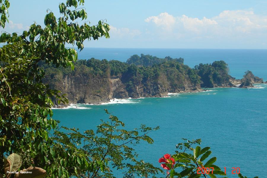 Vista del Parque Manuel Antonio en Quepos, Costa Rica