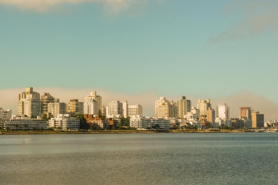 Vista panoramica de Punta del Este Uruguay