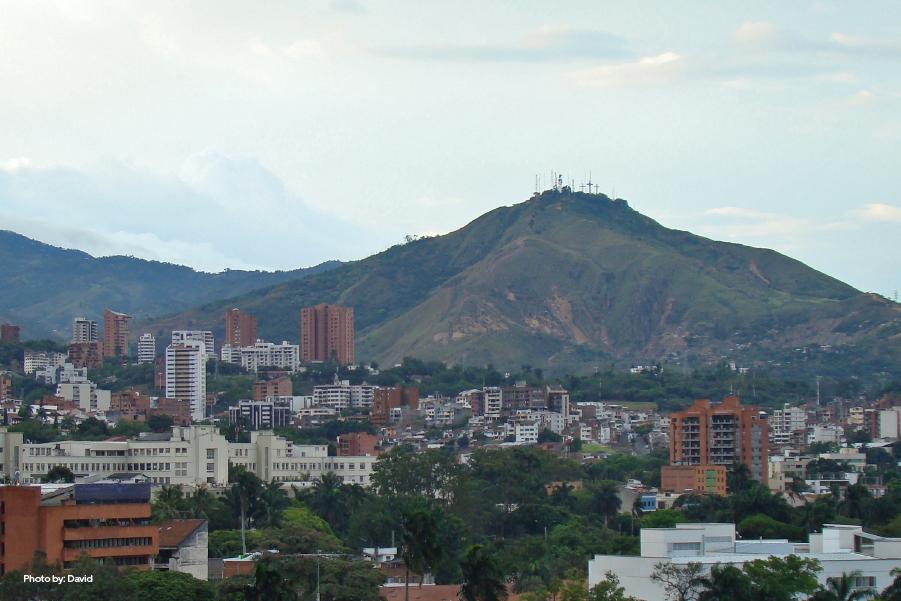Vista panorámica desde el Mirador de Los Cerros