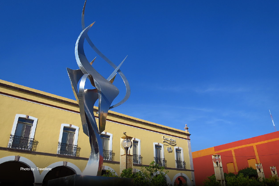Escultura del Centro Histórico de Querétaro