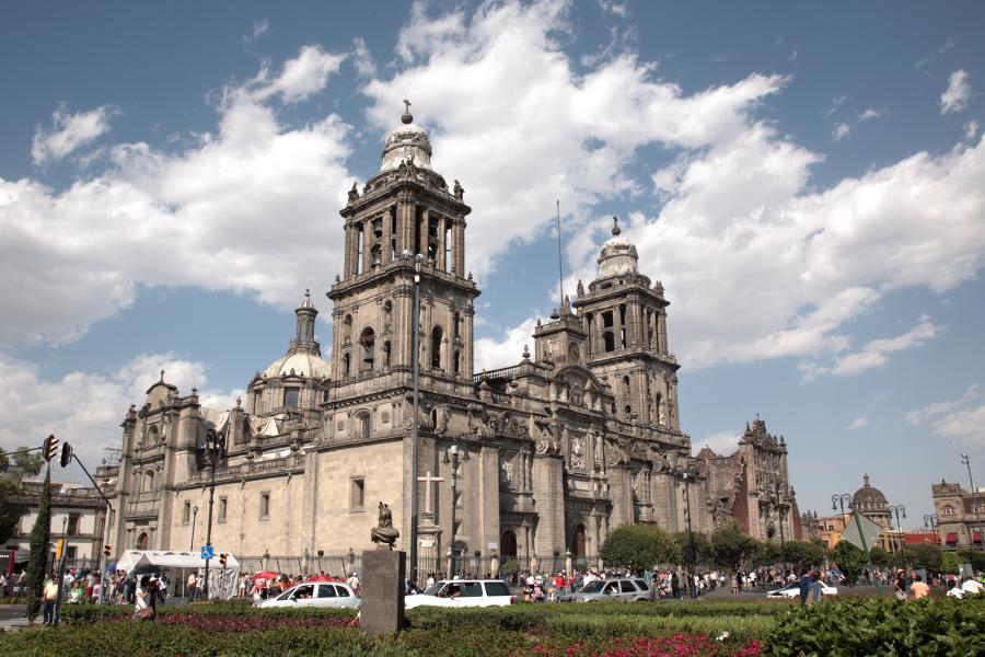Catedral, lugares para conocer en Ciudad de México