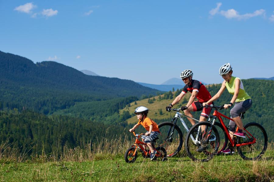Ruta en bici, algo que hacer el Día de la Madre