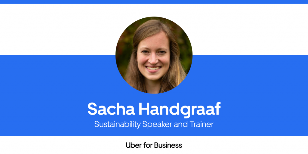 Sustainability articles: Influencer interview: Sacha Handgraaf, Sustainability Speaker and Trainer