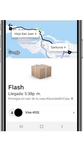 Uber Flash Puerto Rico