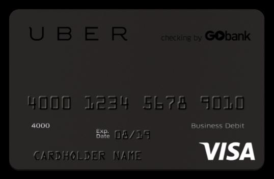 uber debit card