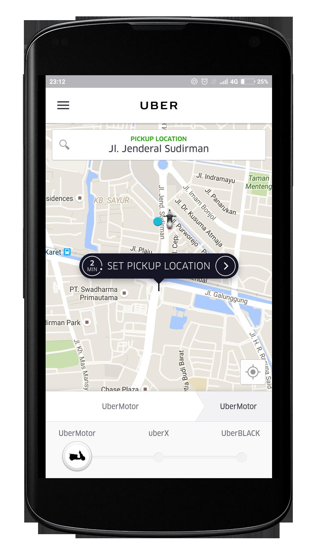 uberMOTOR Screenshot App copy