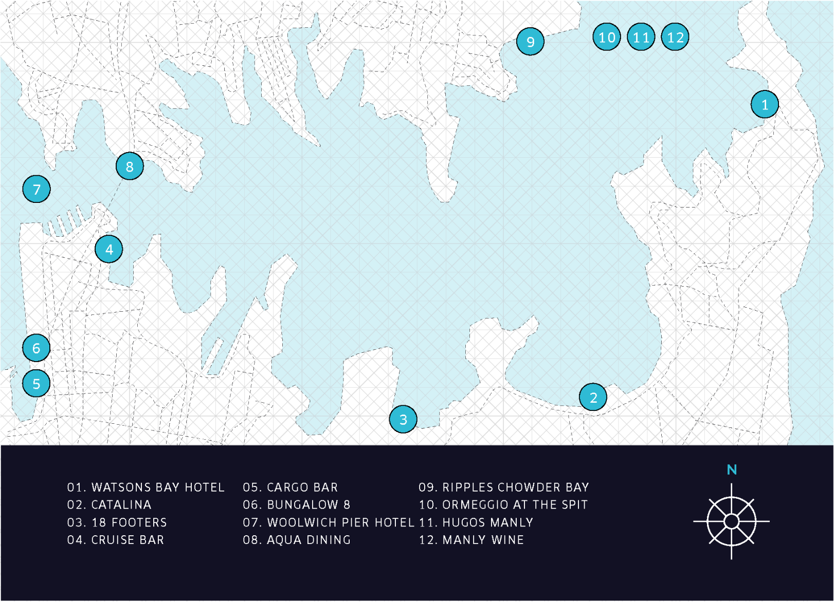 UberBoat Treasure Map